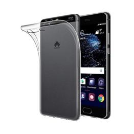 Huawei P10 Hülle, ViViSun Transparent TPU Silikon Weich Schutzhülle für Huawei P10 -