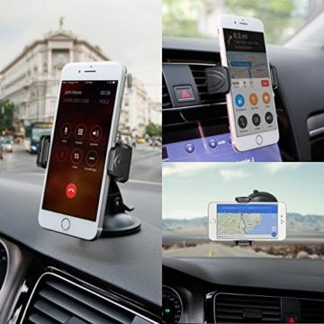 [Inateck] Smartphone Autohalterung/Handyhalterung/KFZ Halterung für iPhone 6/6plus/7, Samsung, HTC, LG -
