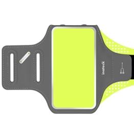 Inateck wasserresistentes Outdoor Sport Armband mit Schlüsselhalter und Tasche für Mobiltelefone/Smartphone bis zu 5.1 Zoll z.B. iphone 7/6s/6/5/5se, galaxy S7/S6/S5,HTC ONE M7,M8,M9 -