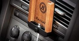 iPhone 6 6s 7 Autohalterung Premium Handmade in EU - Aluminium / Holz Berrolia 2 -