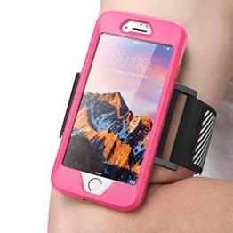 iPhone 7 (4.7) (2016) Armband , SUPCASE Sport Hülle Ideal zum Joggen / Zubehör (rosa) -