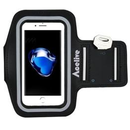 iPhone 7 Armband, Acelive Neoprene Sport Armband Armtasche Hülle für iPhone 7, Geeignet für Ewegung, Gymnastik, Jogging, Workout, Rad fahren, Wandern -