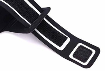 IPHONE SE / 5SE Armband, Profer Neopren Fit Sportarmband Gürtel Armbänder mit verstellbarer Riemen für IPHONE 5 5S SE 5SE (schwarz) -