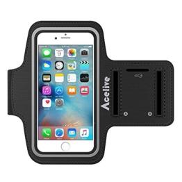 iPhone SE Armband, Acelive Neoprene Sport Armband Armtasche für iPhone SE iPhone 5S , Geeignet für Ewegung, Gymnastik, Jogging, Workout, Rad fahren, Wandern -