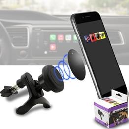 IWIO Fahrzeug Montieren Griffmagie Mobiltelefon Cradle Entlüftungsöffnung Magnetisches Telefon Halter Universal Autohalterung für Samsung Galaxy S8 -