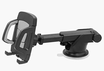 kfz halterung mit kugelgelenk f r das handy iphone. Black Bedroom Furniture Sets. Home Design Ideas