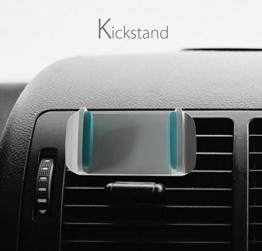 Kickstand KFZ Handy Halterung/Halterung für Handy/Handy Wiege für. 360Grad drehbar KFZ Air Vent Mount, Universal für iPhone 7/7Plus/6S/6S Plus/6/6Plus/5s/5C/SE, Samsung Galaxy S5S6/S6Edge/S7/S8Edge und andere Android Smartphones -