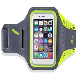 Lepfun A8 Wasserdicht Leichte Sportlaufband mit Schlüsselhalter , Kabel Locker und Geldkarten-Halter für iPhone 7/7 Plus / 5S / 5 / 5C / 6 / 6S, Galaxy S3 / S5 / S6 / S7 Rand / Note 5 / Note 4(5.5 inch) -
