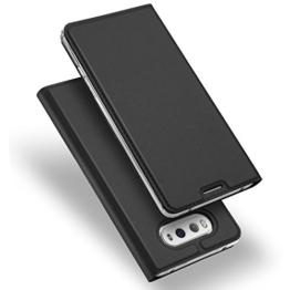 LG G6 Hülle, DUX DUCIS Skin Pro Series Ultra Slim Layered Dandy, Ständer, Magnetverschluss,TPU Bumper, Full Body Schutz für LG G6 (Gray) -