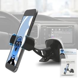 Magnetische Cradle-less Case-kompatiblen Auto Halterung Windschutzscheibe Armaturenbrett für Samsung Galaxy S8 Plus 2017 -