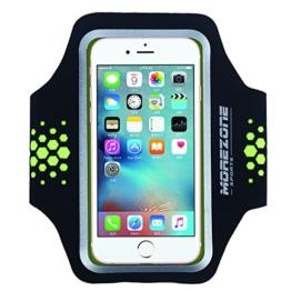 MOREZONE iPhone 6/6s/7 Handy Sportarmband Fitness Jogging Running Armband für Galaxy S7 S6 S5 Workout Laufen Arm band(geeignet für Handys unten 5.1 zolle) -