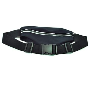 mp power schwarz sport elastische bauchtasche. Black Bedroom Furniture Sets. Home Design Ideas