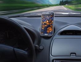 mumbi magnetische KFZ Halterung (für Samsung, iPhone, Sony, LG, HTC) -