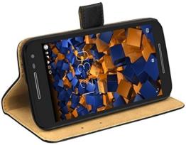 mumbi Tasche im Bookstyle für Motorola Moto G (3. Generation) Tasche -