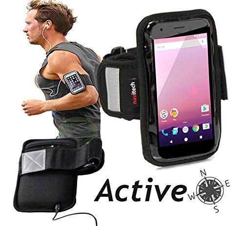 navitech wasserdicht schwarz sport fitness jogging radfahren skifahren armband tasche. Black Bedroom Furniture Sets. Home Design Ideas