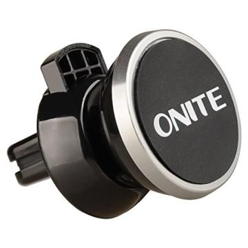 Onite Magnetisch Universal Kfz Auto Lüftungsschlitze Handy Halterung (Grau) -