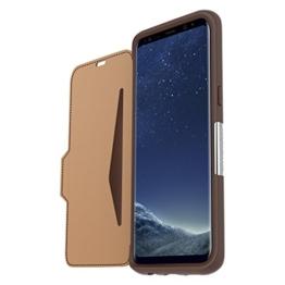 """OtterBox Strada sturzsichere Schutzhülle für Samsung Galaxy S8+  """"BURNT SADDLE"""" brown, braun -"""