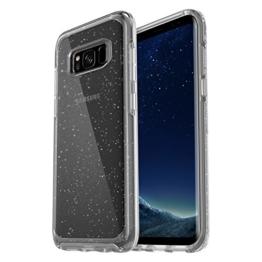 OtterBox Symmetry Clear sturzsichere Schutzhülle für Samsung Galaxy S8 CLEAR STARDUST, transparent -