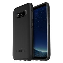 OtterBox Symmetry sturzsichere Schutzhülle für Samsung Galaxy S8+, black, schwarz -