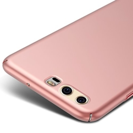 Rose Gold Sehr Dünn Hülle Schutzhülle Case + Displayschutzfolie für Huawei P10 5,1 Zoll Vooway® MS70300 -