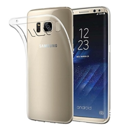 Samsung Galaxy S8 Hülle, Acelive Transparent TPU Silikon Handyhülle Schutzhülle Case für Samsung Galaxy S8 -