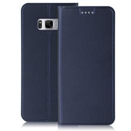Samsung Galaxy S8 Hülle, IVSO Hohe Qualität Advanced Shock Absorption Technology Case Folio Tasche Cover für Samsung Galaxy S8 Smartphone (Für Samsung Galaxy S8, Blau) -