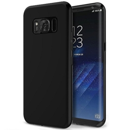 Samsung Galaxy S8 Hülle, Orlegol Weiche Silikon Hülle Galaxy S8 Kratzfeste Case Cover Bumper Hülle Weiche Silikon Schutzhülle Tasche Handyhülle für Samsung Galaxy S8 (Schwarz) -