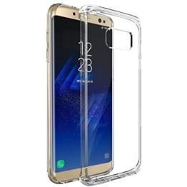 "Samsung Galaxy S8 Hülle, Profer TPU [Crystal Clear] Transparent Ultradünn Schutzhülle Flexibel Silikon Case Cover Handyhülle Slimcase Rückschale für Samsung Galaxy S8 (5,8"") (TPU-Durchsichtig) -"