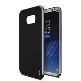 "Samsung Galaxy S8 Hülle, Profer TPU Ultradünn Schutzhülle Flexibel Silikon Case Cover Handyhülle Slimcase Rückschale für Samsung Galaxy S8 (5,8"") (TPU-Schwarz) -"