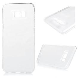 Samsung Galaxy S8 Plus Crystal Clear Case Samsung Galaxy S8 Plus Soft Hülle YOKIRIN Premium Flexible TPU Silikon Case Cover Durchsichtige Schutzhülle Silikonhülle Handytasche Protector Etui Transparent Transparente -