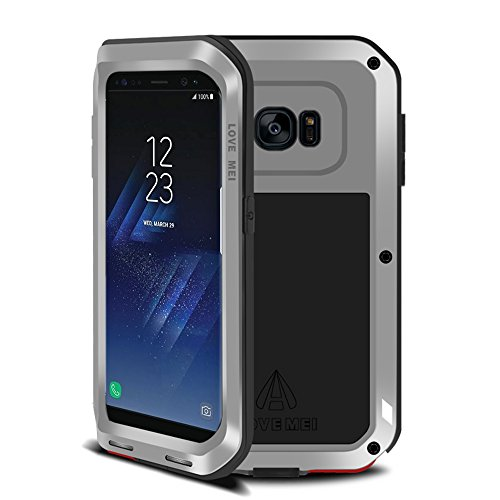 samsung galaxy s8 plus h lle case eastcoo wasserdicht sto fest alloy aluminum metal bumper soft. Black Bedroom Furniture Sets. Home Design Ideas