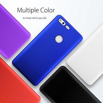 SLEO Google Pixel Hülle Stilvolle harte PC SchutzHülle [Anti-Fingerabdrücke] [soft-touch] Rückseite Tasche für Google Pixel - Schwarz -