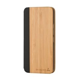 Snakehive® HTC One M9 Holz Brieftaschen-Etui für HTC One M9 - Hülle aus Echtholz (Bamboo) -