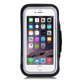Sport Armband, OMorc wasserfest Handyhülle, Fitness Tasche, Armtasche mit Schlüsselring für iPhone 7, 6, 6S oder bis zu 4.7 Zoll, geeignet für Laufen, Gymnastik , Jogging, Wandern, Reiten, Garten, Rad Fahren uws -