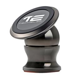 TechElec Universal KFZ Handyhalterung Magnet Auto Halterung Halter für iPhone 7, 6S, SE, 6 Plus, 6S Plus, Galaxy S7, Note 5 und jedes andere Smartphone oder GPS -