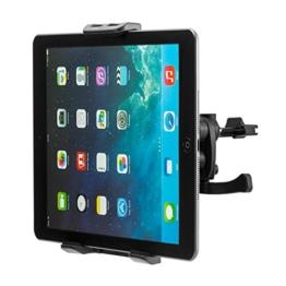 Universal KFZ-Lüftungshalter für für iPhone SE, 5, 5S, 6, 6S, 7, 7 Plus, iPad 2, 3, 4, Air, Air 2, Pro / Galaxy S5, S6, S7, S7 Edge, Note 4, Note Edge / Huawei P8, P9, Lite, Plus / Sony Xperia Z3, Z5, Premium, Compact, XZ, X / HTM M8, M9, M10 und andenre Handy, Smartphone, Phablet, Tablet PC, Navigationsgeräte usw. -