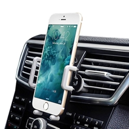 [Upgrade-version] Amotus® Universell Auto-Halterung Einstellbar 360 Grad Auto Entlüfter Telefon-Halter-Auto Cradle Mount Kit für iPhone 7 6S 6 Plus, Samsung Galaxy Note / Rand, LG Nexus, HTC, Smartphone und GPS-Gerät -