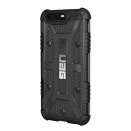 Urban Armor Gear Plasma Schutzhülle nach US-Militärstandard für Huawei P10 - transparent (dunkel) [Verstärkte Ecken | Sturzfest | Antistatisch | Vergrößerte Tasten] - HP10-L-AS -