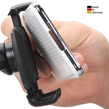 Wicked Chili Pro Mount GRIP - KFZ Halterung für Apple iPhone 7 / 7 Plus / 6S / 6S Plus / 6 / 6 Plus / SE / 5S / 5 / 4S / 4 Handy & Smartphone (Kugelgelenk, Case kompatibel, Made in Germany) -