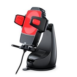 WinnerGear Montar Air Qi Wireless Charging KFZ Ladestation Auto Halterung Induktives Ladegerät für Samsung Galaxy S6 S7 S8 Edge LG G6 -