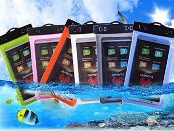 Zewoo Wasserfeste Handyhülle für Smartphones bis zu 5,7 Zoll, HTC ONE / M7/ M8 / M8s / M8 mini/ M9 / M9+ / one X9 / One E9+ / A9 / HTC 626 Tasche beachbag mit Halsband und Armband -